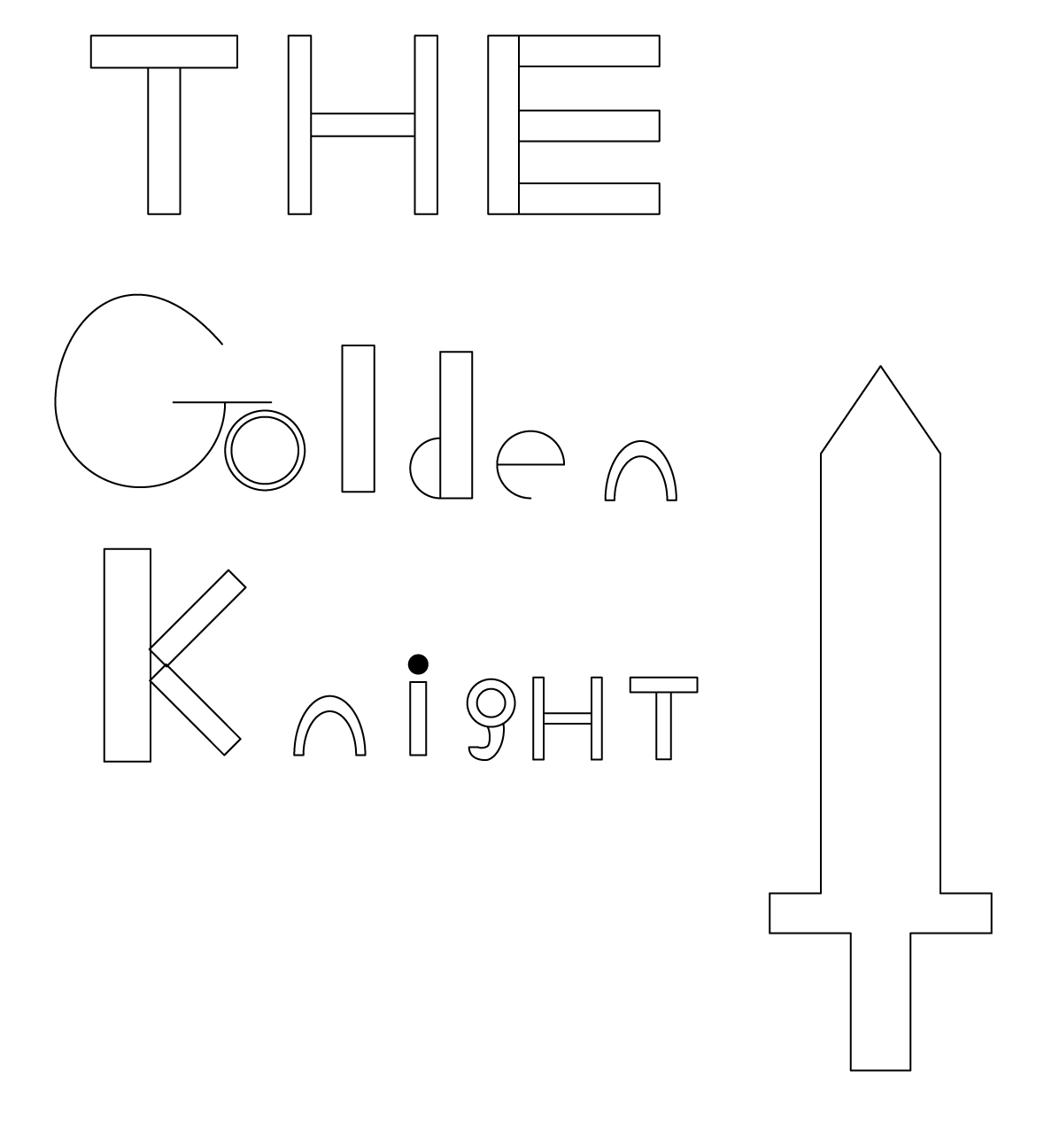 The Golden Knight's Logo